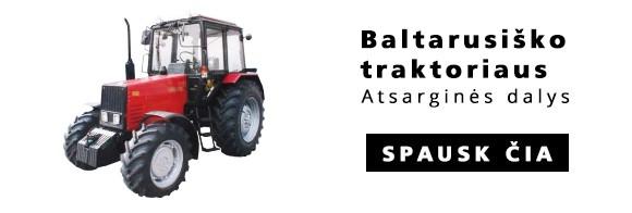 baltarusisko traktoriaus atsargines dalys